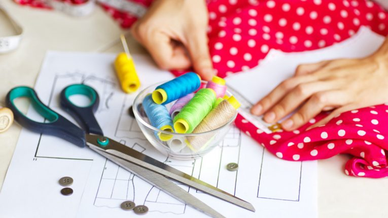 Sewing with Lucie